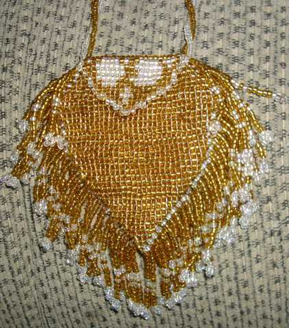 Gold Amulet Bag