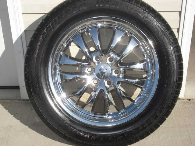 (4) 20 In. Chrome Tires And Rims