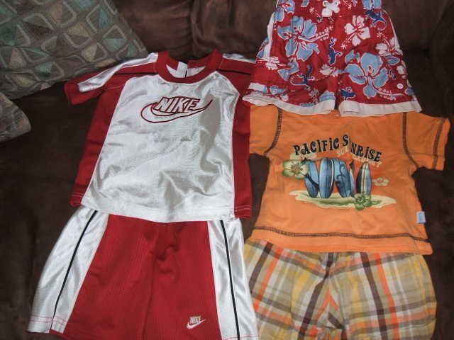 12mths Boys Outfits, Swimming Trunks