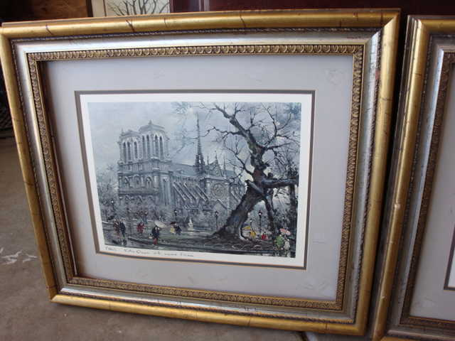 Prints Of Paris With Frames
