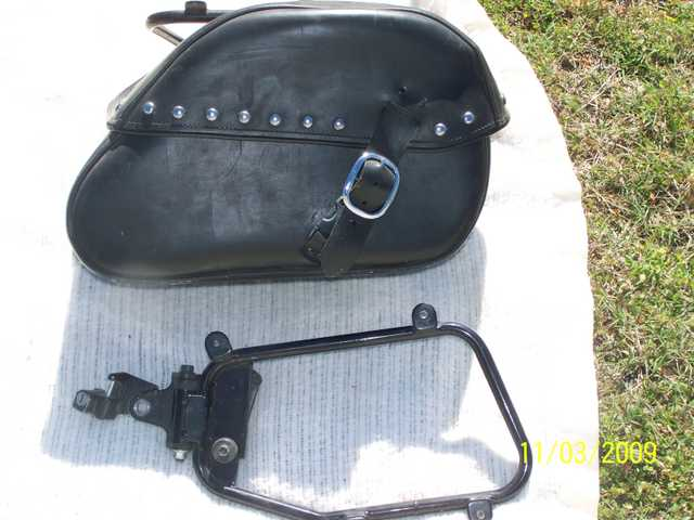 2006 Honda Hardleather Saddlebags $225