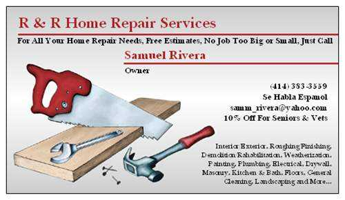 R & R Home Repair Services