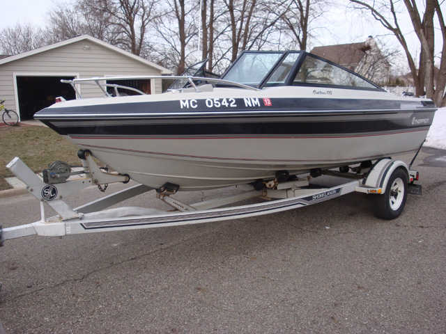 1987 Thompson 175 Cutlass Bowrider
