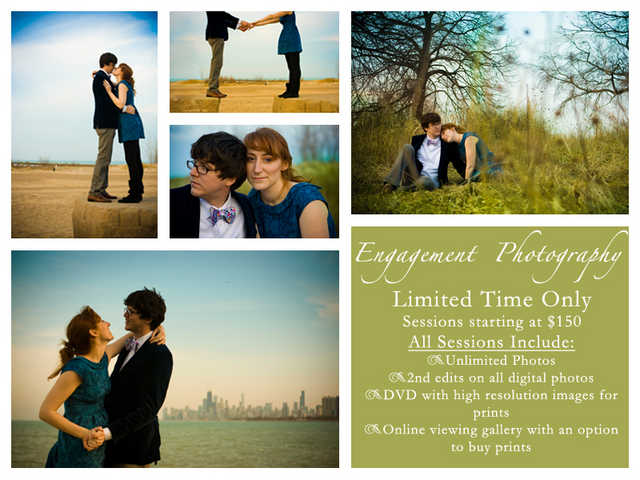 Engagement Photo Sessions - Limited Time Only - Starting At $150