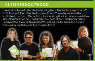 The Ultimate Body Applicator - Hollywood's Best Kept Secret!