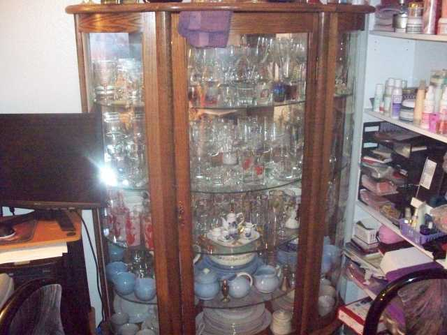 ANTIQUES CHINA CABINET FURNITURE ON RUBY LANE.