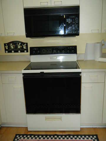 Whirlpool Stove - Microwave - Cook Top