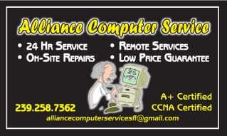 Alliance Computer Services At Your Service