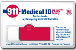 911 Medical Id Business
