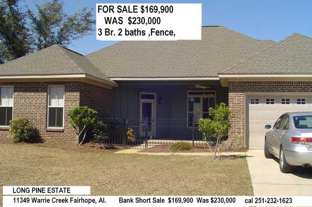 Bank Short Sale, $169,900 Was $230,000