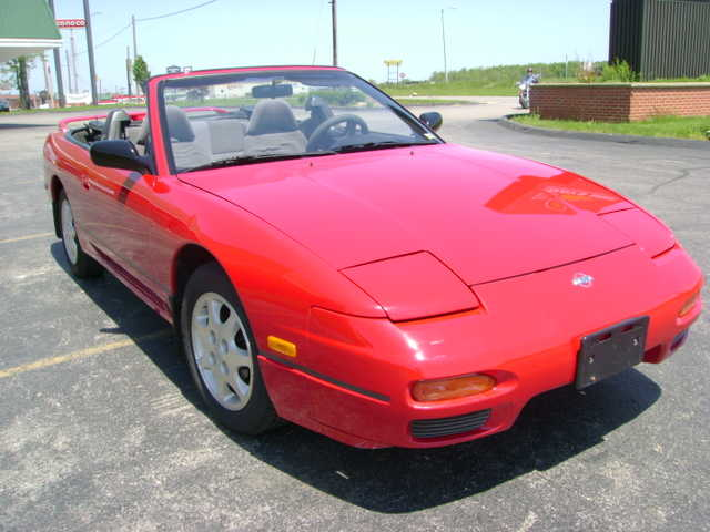 93 - Nissan 240sx Convertible Special Edition - Red - $3450firm