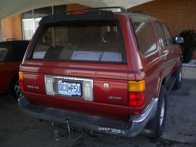 95 - Toyota - Sr5 - Limited - 4x4 - Runner - Automatic - $2450