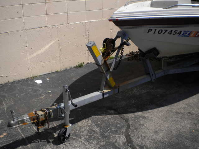 Shore Lander Ltrailer For 18ft Boat - $300