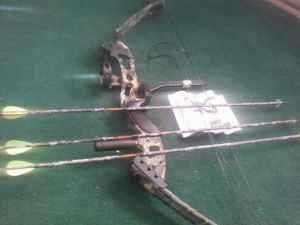 09 Camo Browning Rage Compound Bow