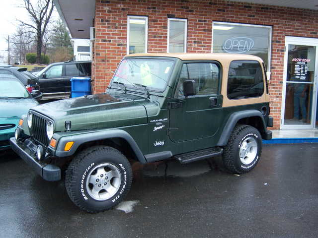 * Hard To Find 1997 Wrangler 6 - Cly Auto W / Air & Hard Top *
