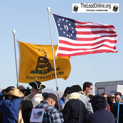 Tea Party Express Searchlight Nevada (Video)