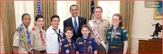 Obama Caught Between A Scout And An Activist