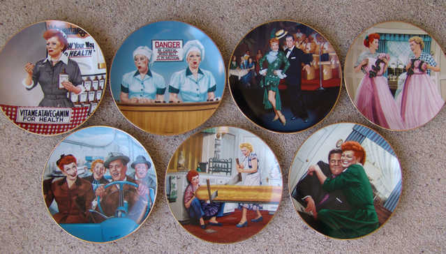 I Love Lucy Plate Collection