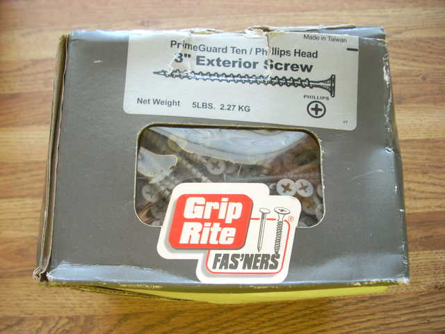 Exterior Screws 3 5 Lb Box Grip Rite Fasteners
