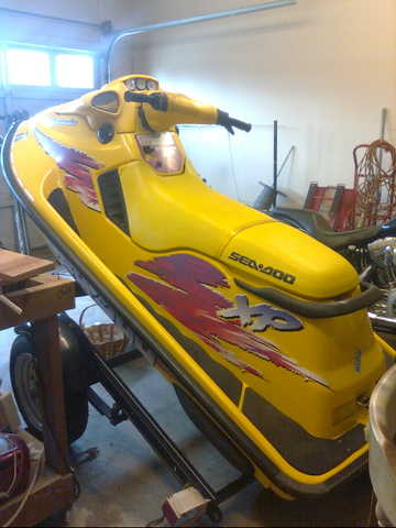 96 Seadoo Xp Yellow And Black