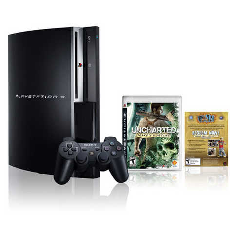 Playstation 3 Factory Sealed $375 (Drakes Bundle)