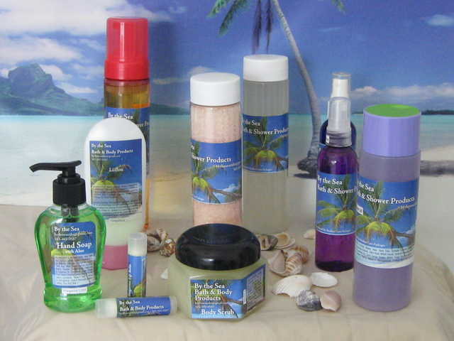 By The Sea Bath & Body Products