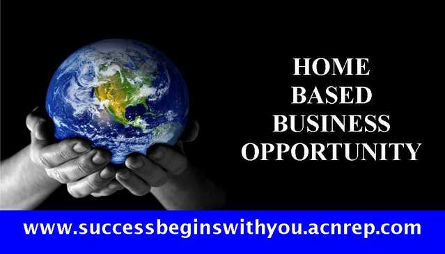 Home Based - Business Opportunity