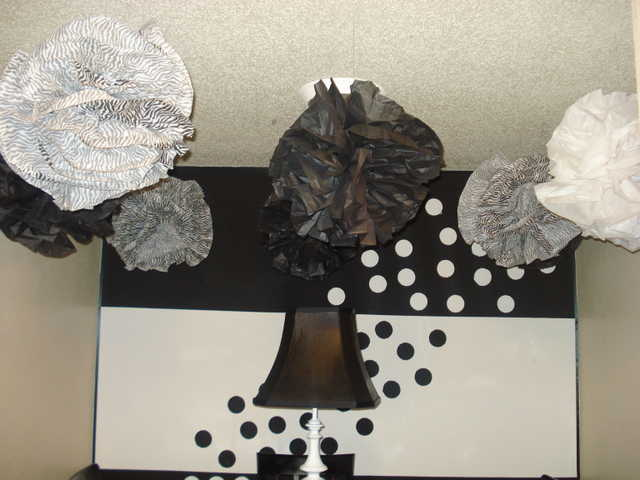 Decorative Hanging Paper Ornaments