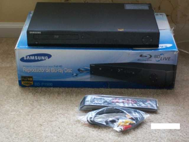 Samsung Blu Ray Dvd Player