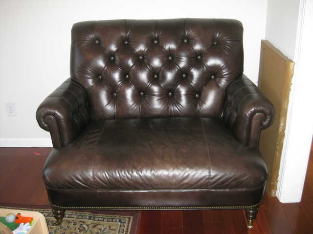 Leather Love Seat For Sale!