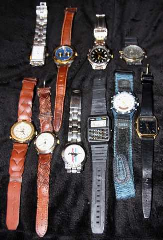 10 Mens Watches $100