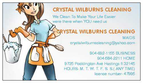 Crystal Wilburns Cleaning