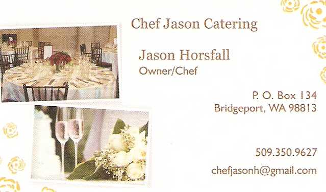 Chef Jason Catering