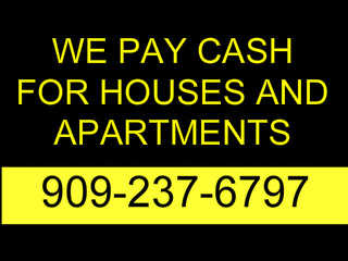 I Pay Cash Fast! For Houses And Apartments