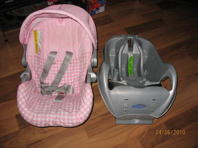 New Born Car Seat (Pink)