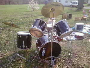 Remo / Pearl Drumset
