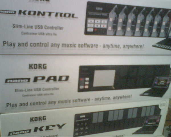 Korg Nano Kontrol, Pad And Keyboard For Sale