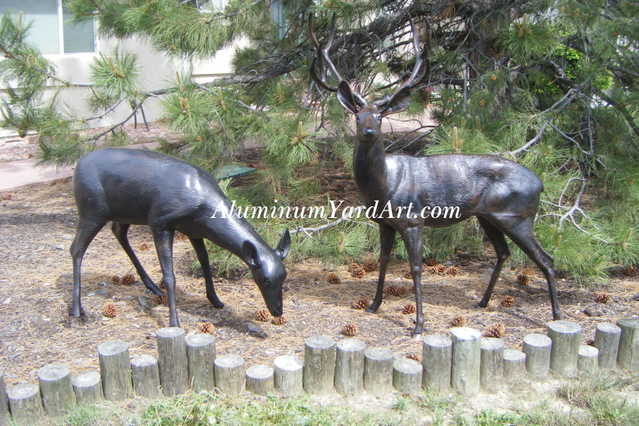 Garden Deer 50% Off, Lawn Deer 50% Off, Deer Sculpture 50% Off