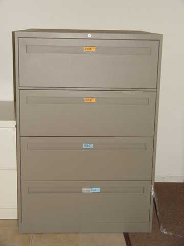 4 Drawer Lateral Files