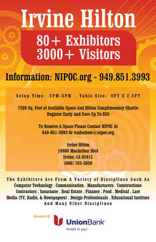 Trade Show 15th Annual Nipoc Business Trade Show & Expo.