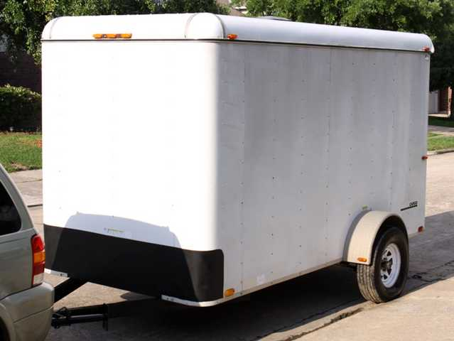 Will Trade 12'x6' Enclosed Trailer For Car, Truck, Sonyprohdcam