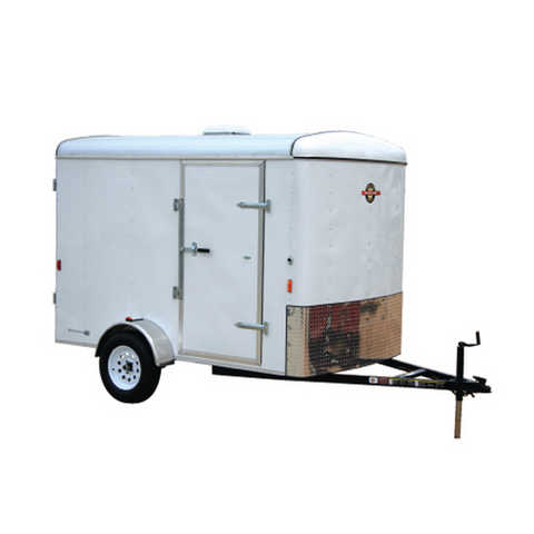 12'x6' Enclosed Trailer - Trade For Suv, Truck, Sony Pro Hd Vid Cam