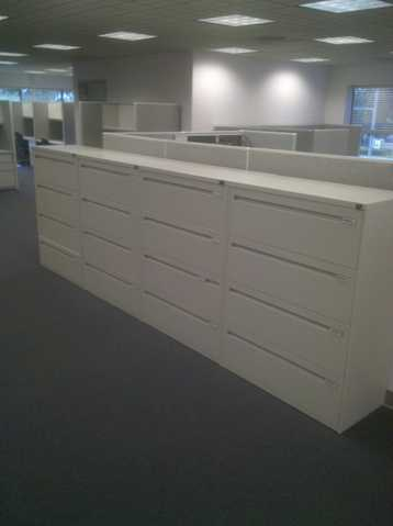Kimball 4 - Drawer Lateral Files