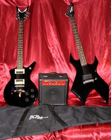 Dean Cadillac And Bc Rich Warlock Combo - Sale Or Trade - $350
