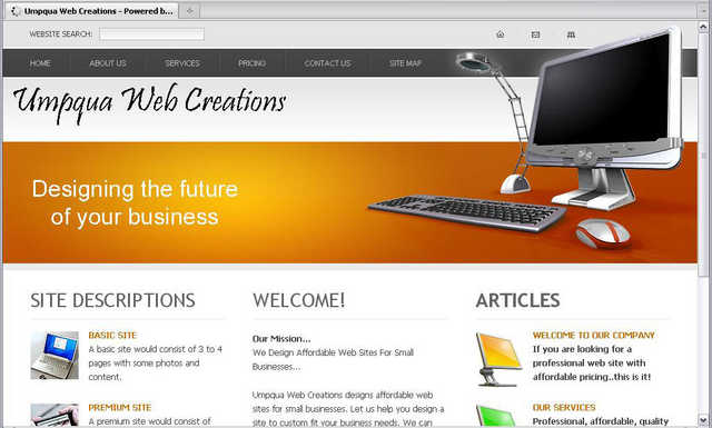 Affordable Web Design For Small Businesses.