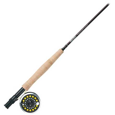 White river dogwood canyon 8ft fly rod and reel combo for White fishing rod