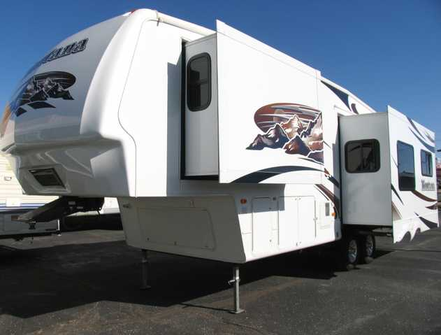 Used Montana 5th Wheel - 2008 33ft With 2 Slides