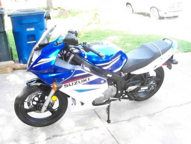 08 Suzuki 500gs Sport Bike