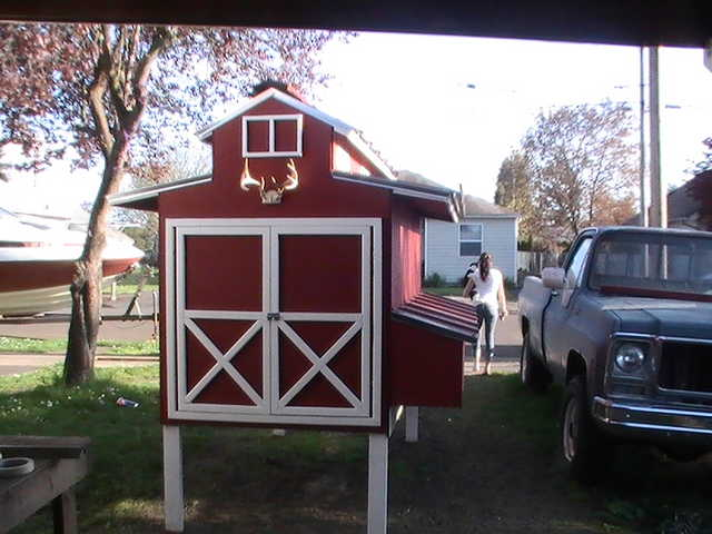 Chicken Coop Or Barn Cute!