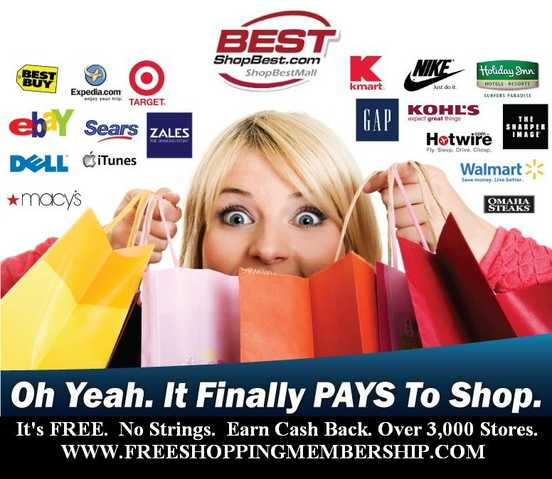 Free Shopping Membership That Pays
